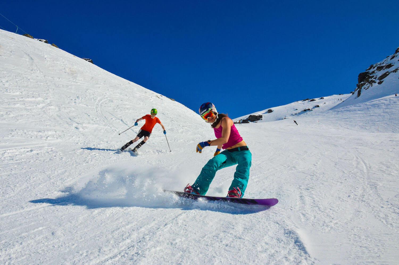 Christina Bruno Spring Snowboarding