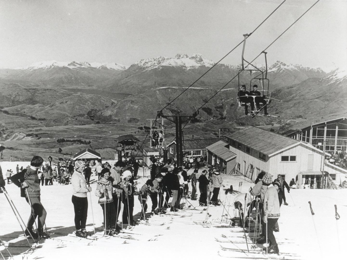CORONET PEAK IN THE 1960'S