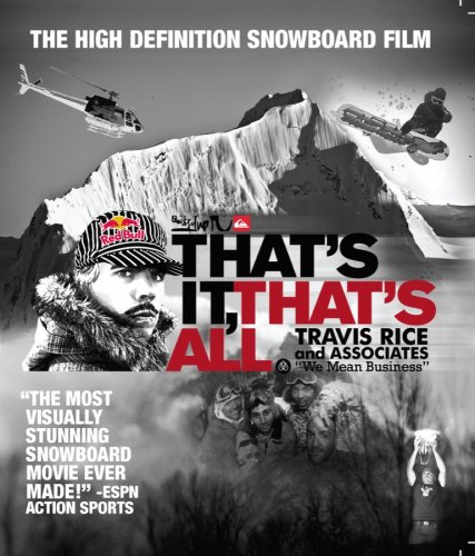 Ski & Snowboard DVD's - There are so many amazing DVD's available so I suggest checking out the reviews. We've always been fans of Travis Rice movies which are about snowboarding as well as anything by Warren Miller which is mainly about skiing. But there are so many others worth checking out - from documentaries to park rat edits.