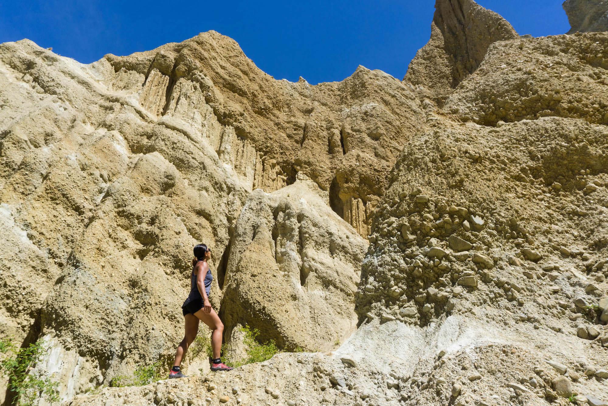 Jen at Clay Cliffs