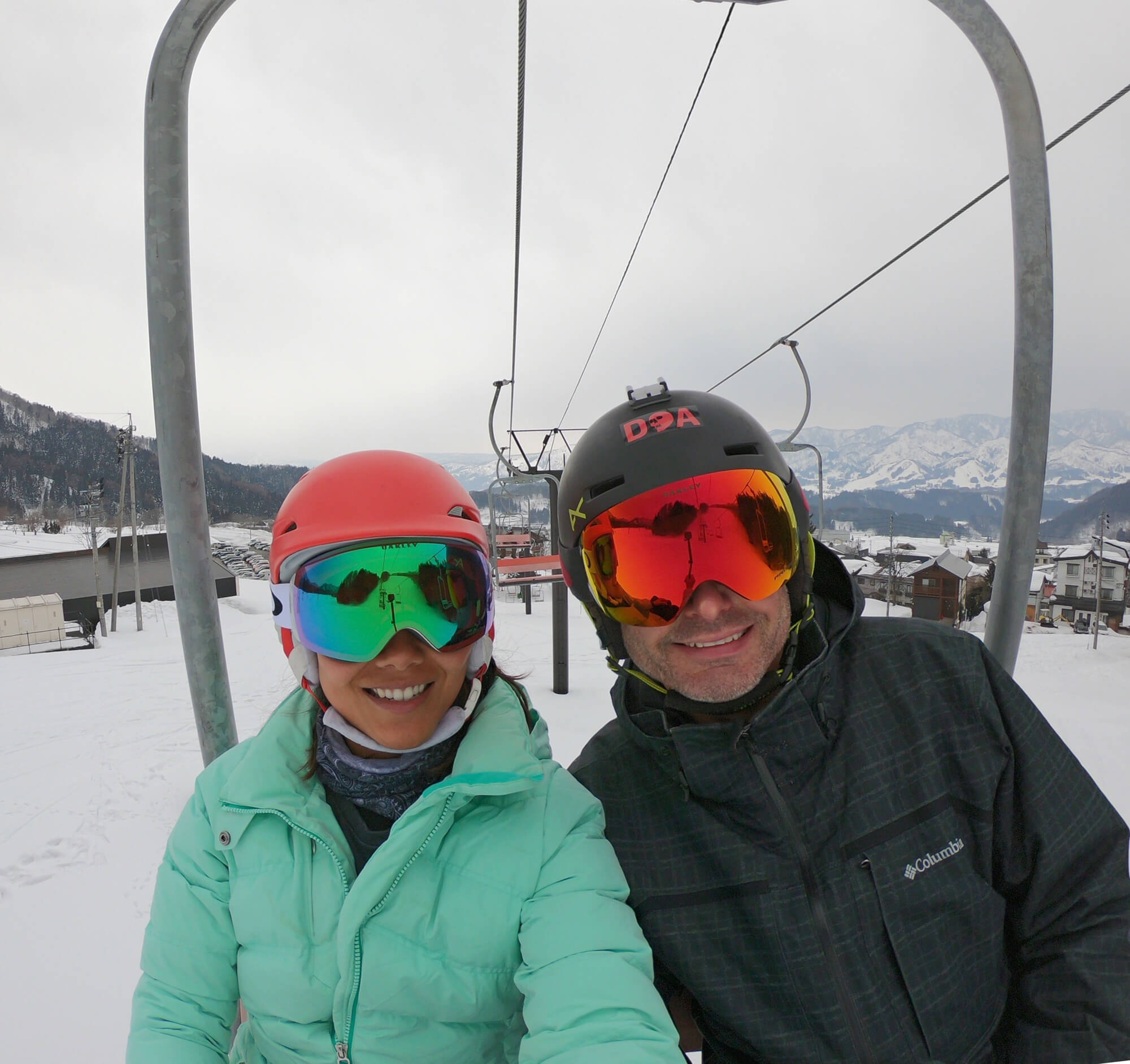 CUTE LITTLE 2 SEATER CHAIRLIFT!