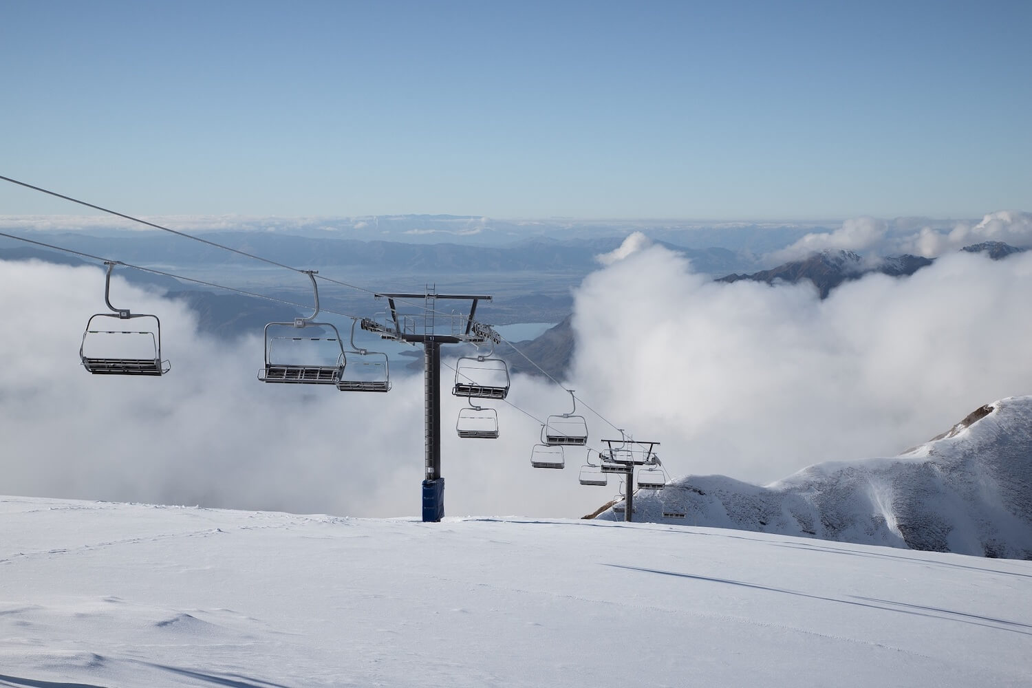 TREBLE CONE'S SADDLE BASIN IS READY AND WAITING FOR OPENING ON SATURDAY JUNE 23. PHOTO: JACKSON LANA