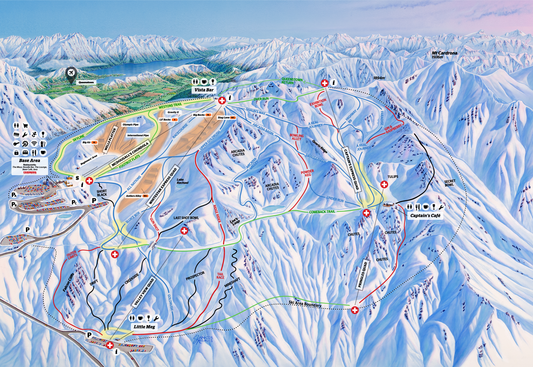 PROPOSED WINTER 2019 TRAIL MAP