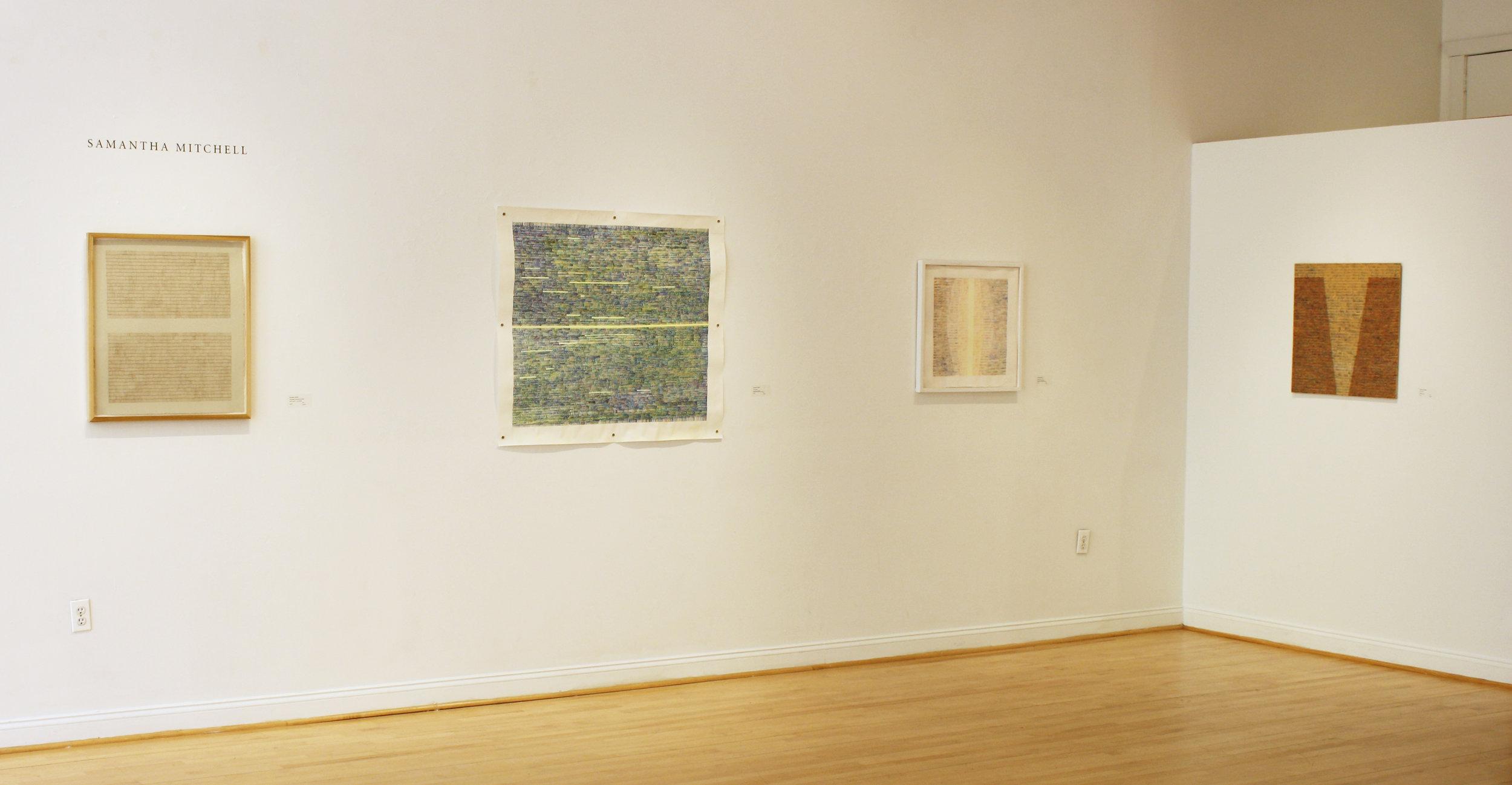 Meditations: SaraNoa Mark, Samantha Mitchell, Rowland Ricketts   Snyderman-Works Gallery  April 2017