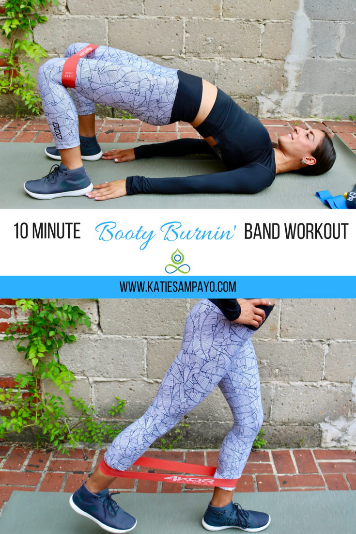 10 Minute Booty Burnin' Band Workout