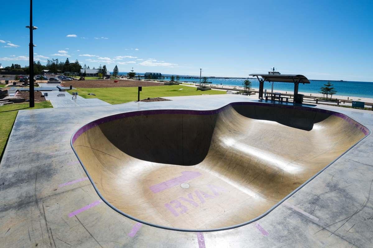 Busselton Skatepark Youth Precinct