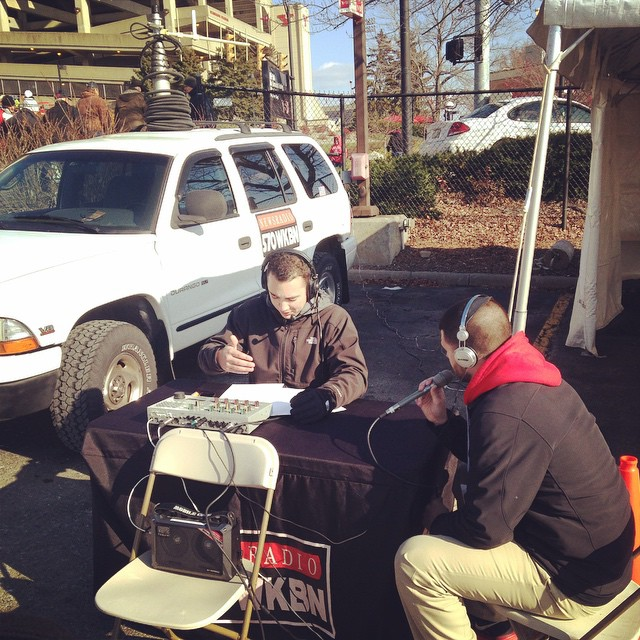 Joining Zach Humphries on the YSU Football Tailgate Show on 570 WKBN during the 2014 season.