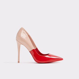 two tone red and blush heel.jpg