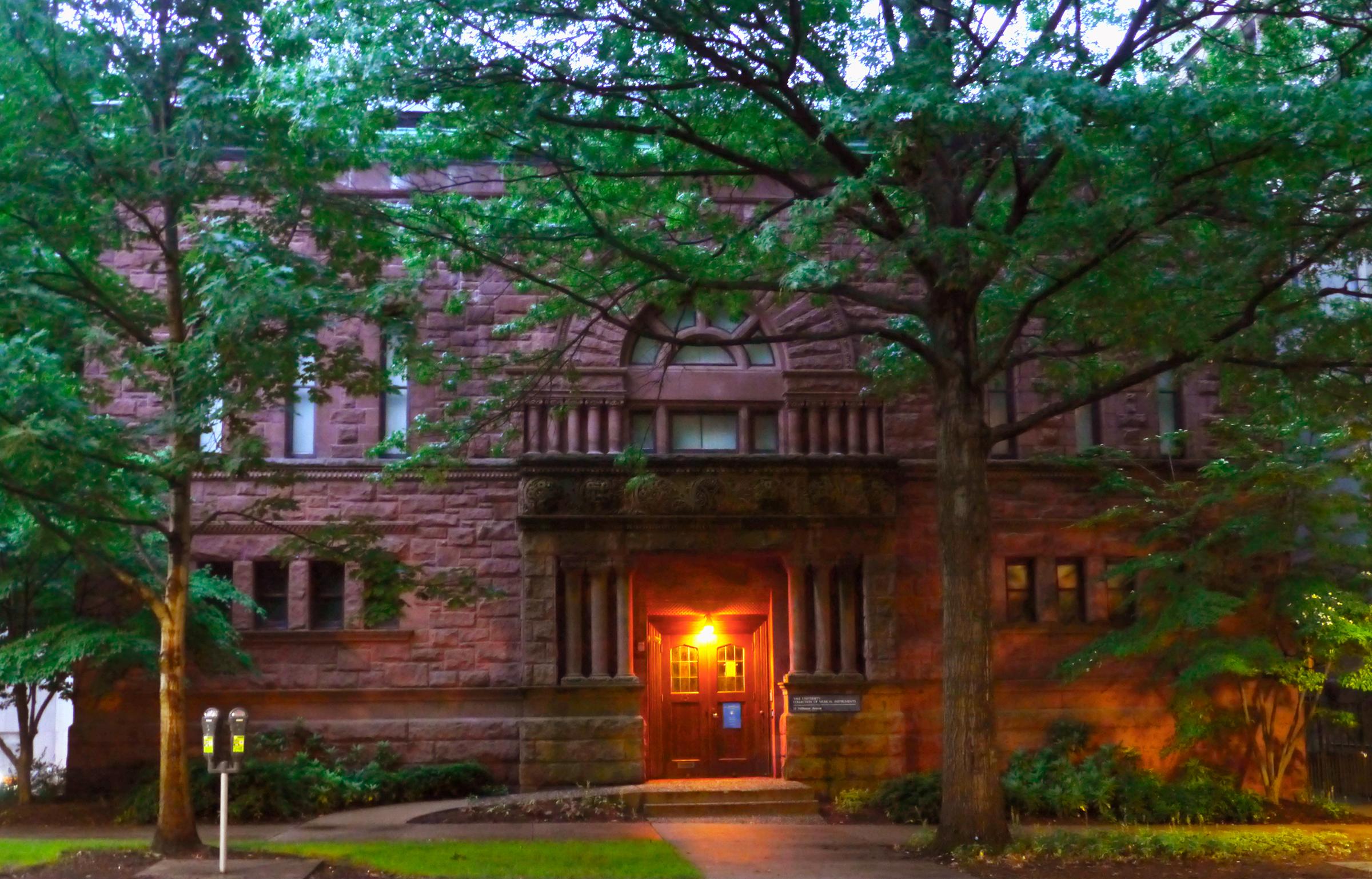 Yale Instrument Museum 15 Hillhouse Avenue New Haven, CT