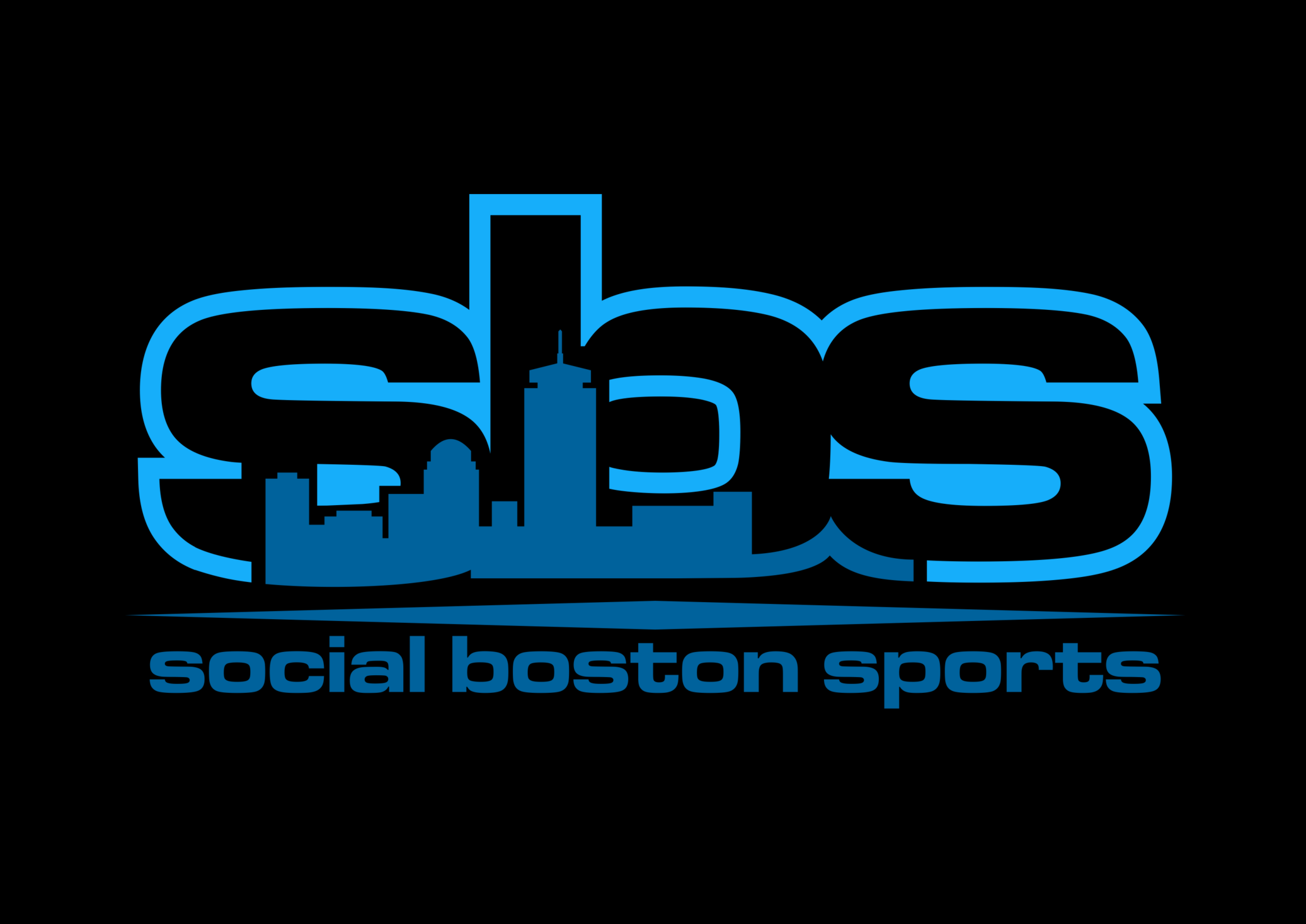 Preview work created for Social Boston Sports