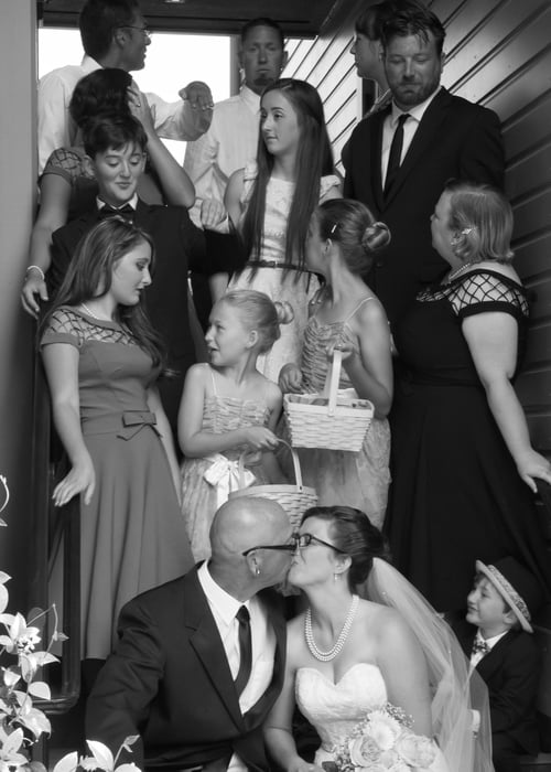 Portland wedding distraction