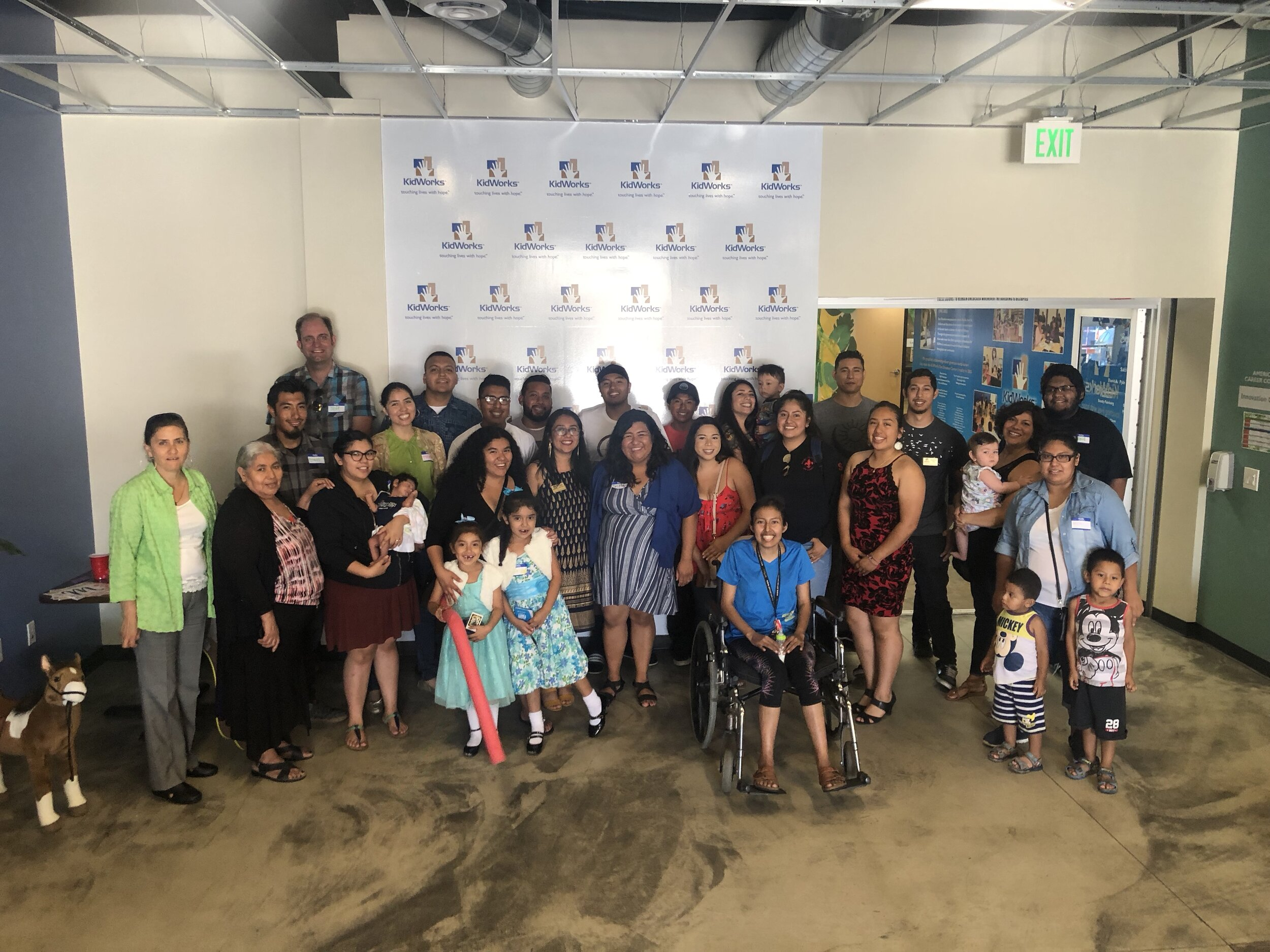 KidWorks alumni gather for a reunion over the summer