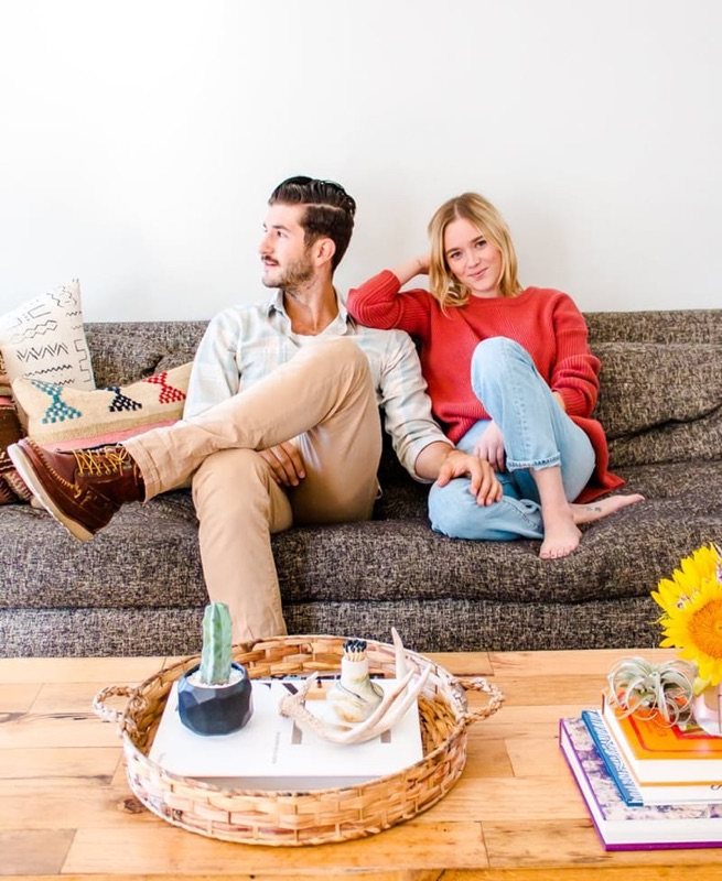 Molly & Daniel: Freelance Life in LA for Life Stories series