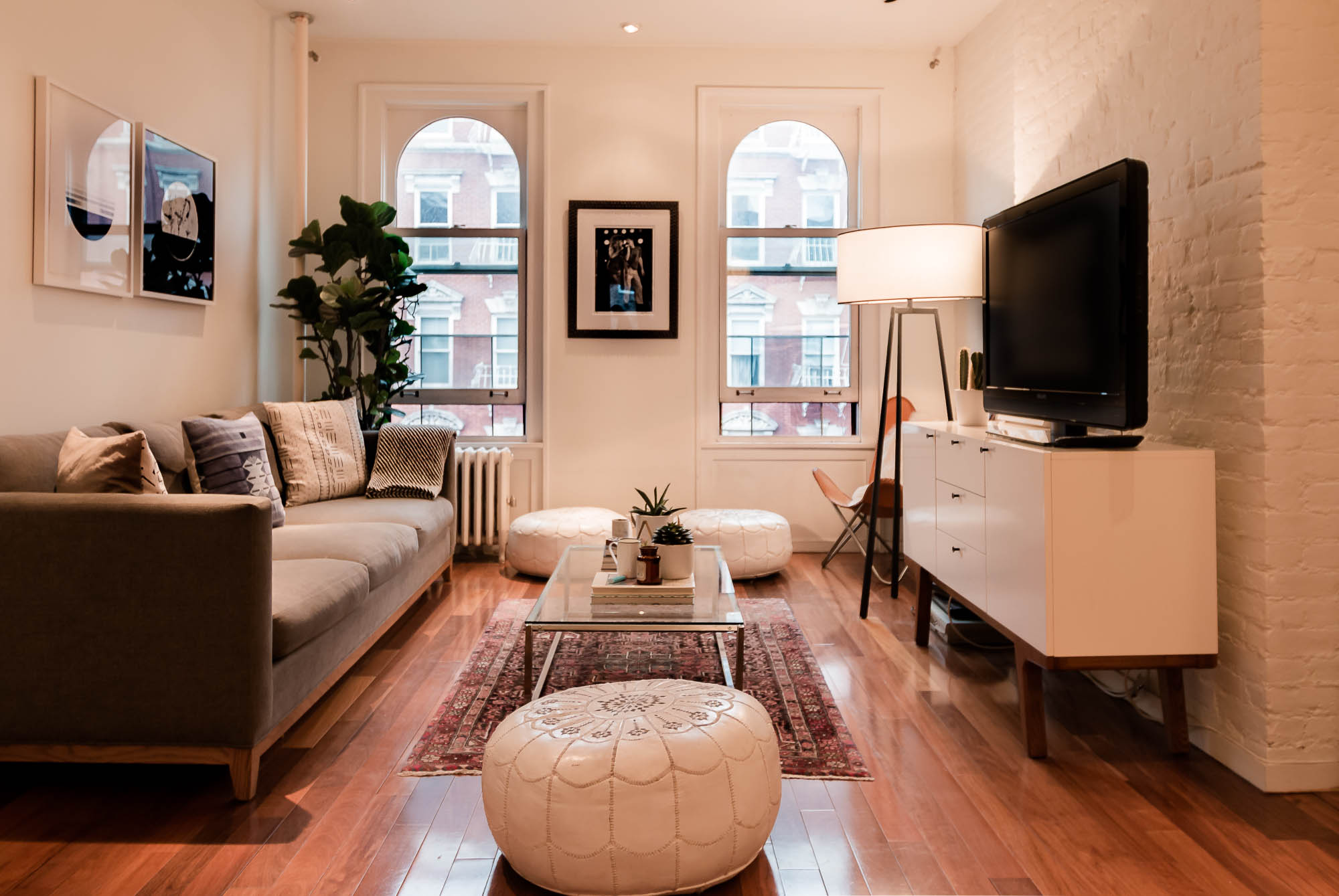 Greenwich Village Apartment of artist, Carly Berlin, for Apartment Therapy