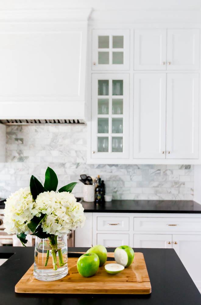 Detail of Alex Kaehler's kitchen for Domino