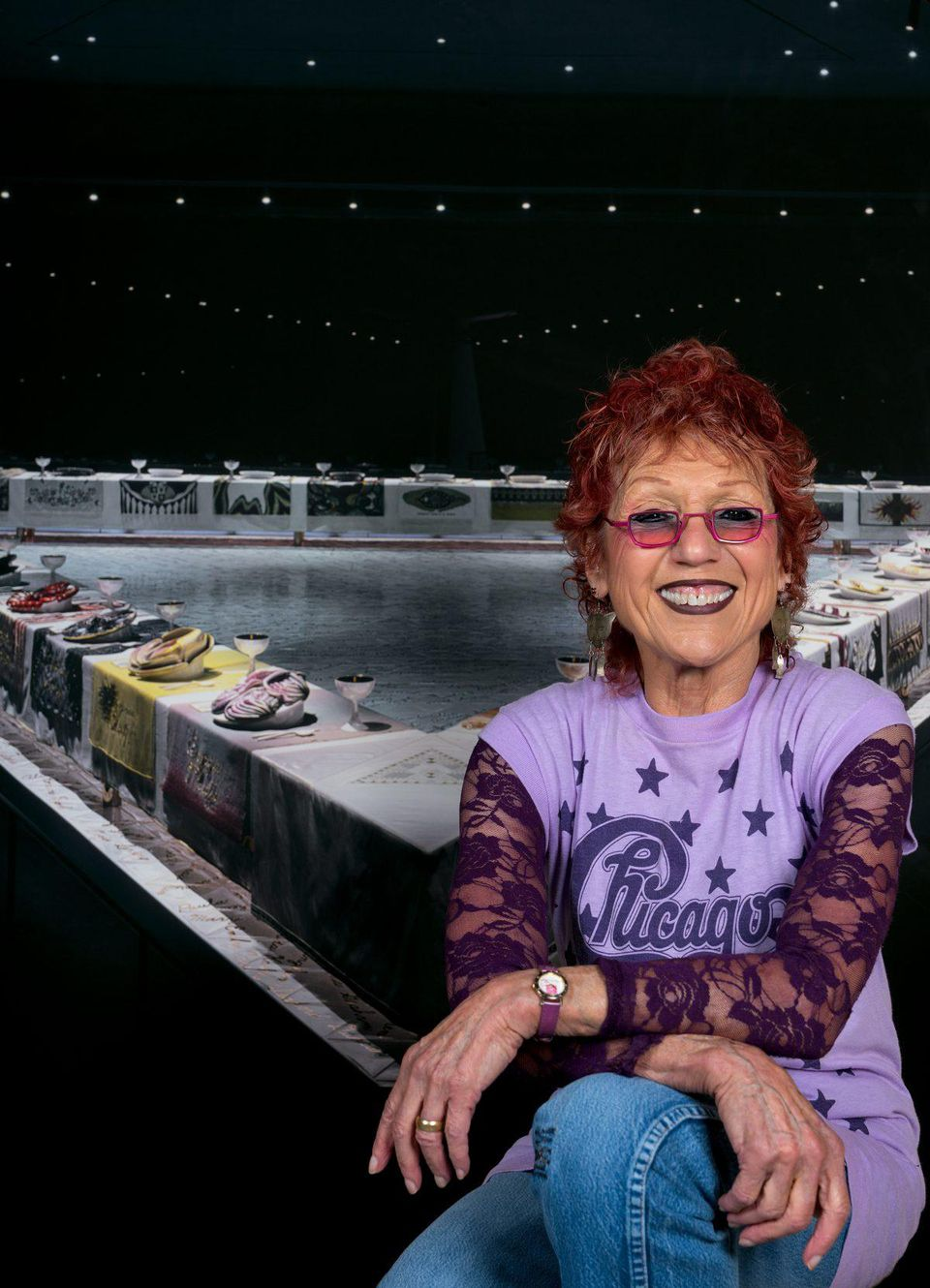 Forbes Interview: Judy Chicago Talks Feminist Product Collaborations And The Importance Of Crowdfunding