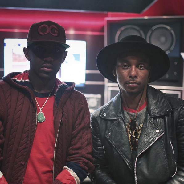 PHONIX IN THE STUDIO WITH FABOLOUS