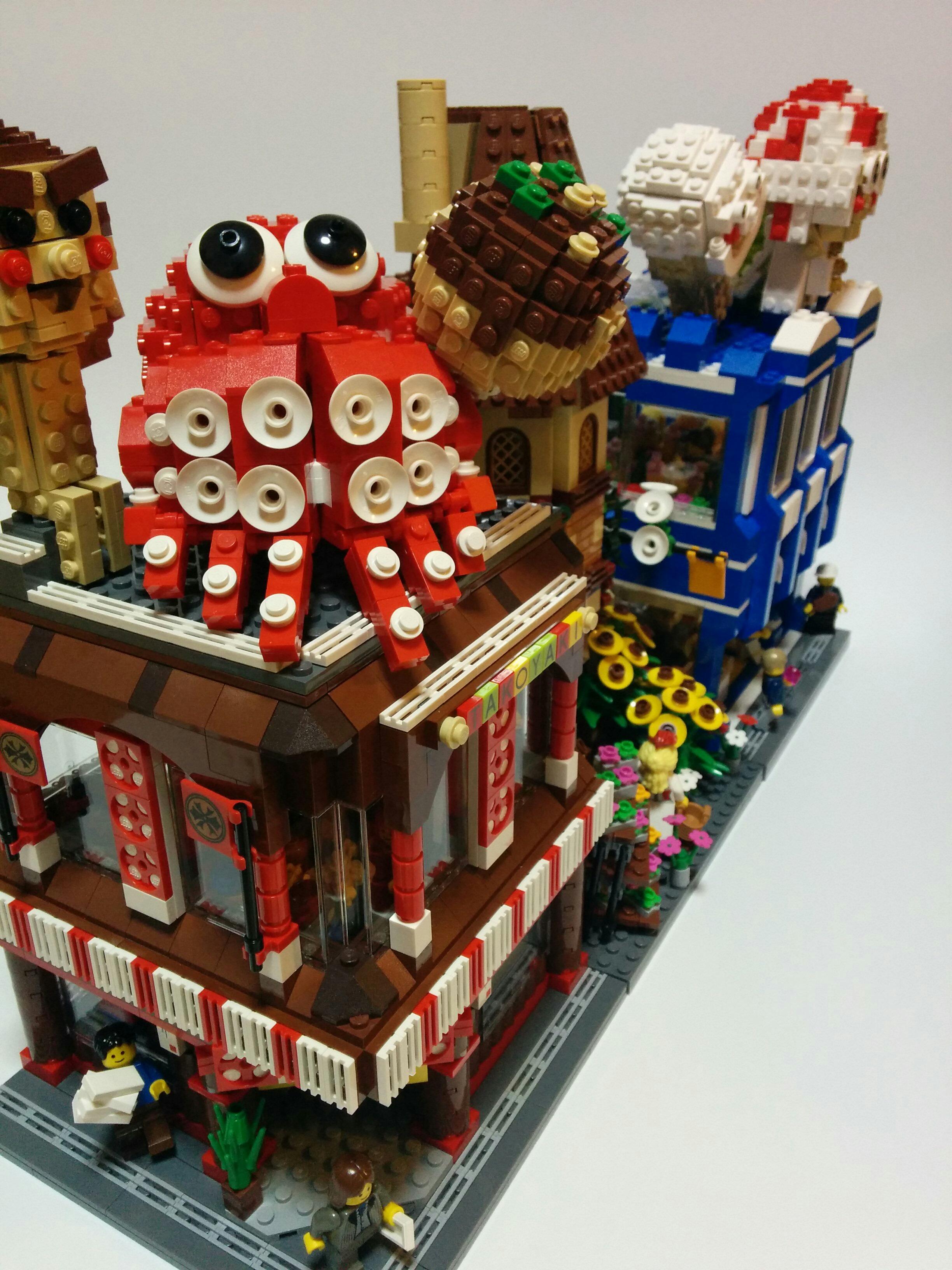 レゴの街並み