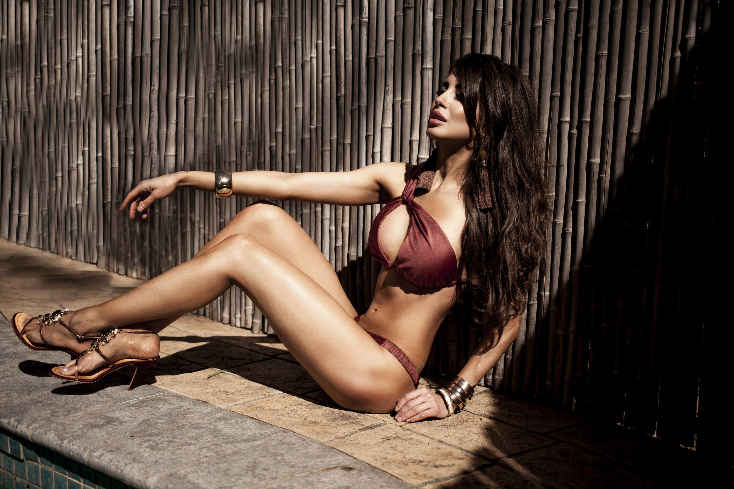 La Koi epitomizes femininity - Sexy, yet elegant designs epitomize the glamorous lifestyle. Styles are intricate, yet versatile enough for all shapes and sizes. Sleek sensuality and soft sophistication are showcased in the stunning swim design
