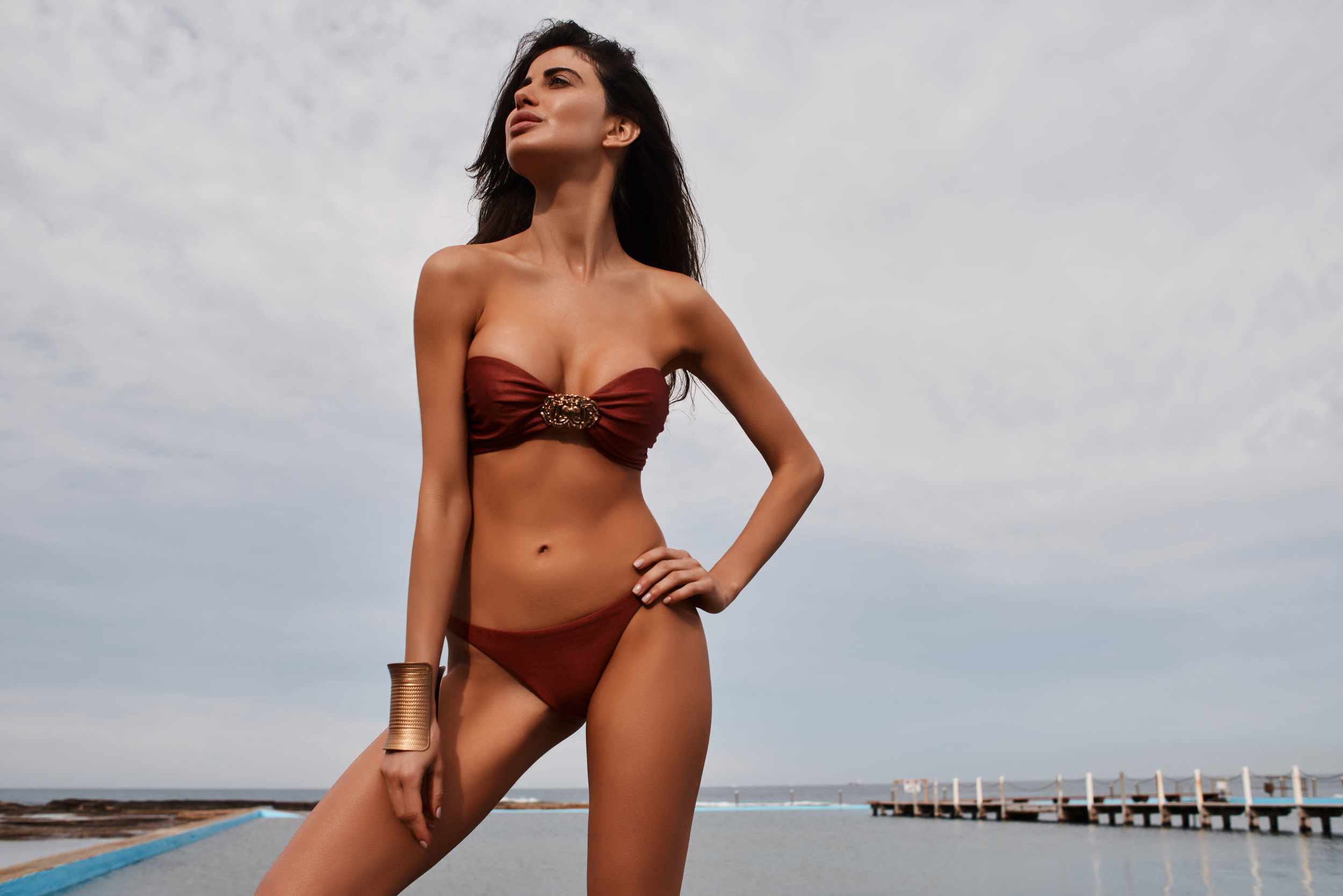 La Koi epitomizes femininity - Styles are intricate, yet versatile enough for all shapes and sizes. Sleek sensuality and soft sophistication are showcased in the stunning swim designs