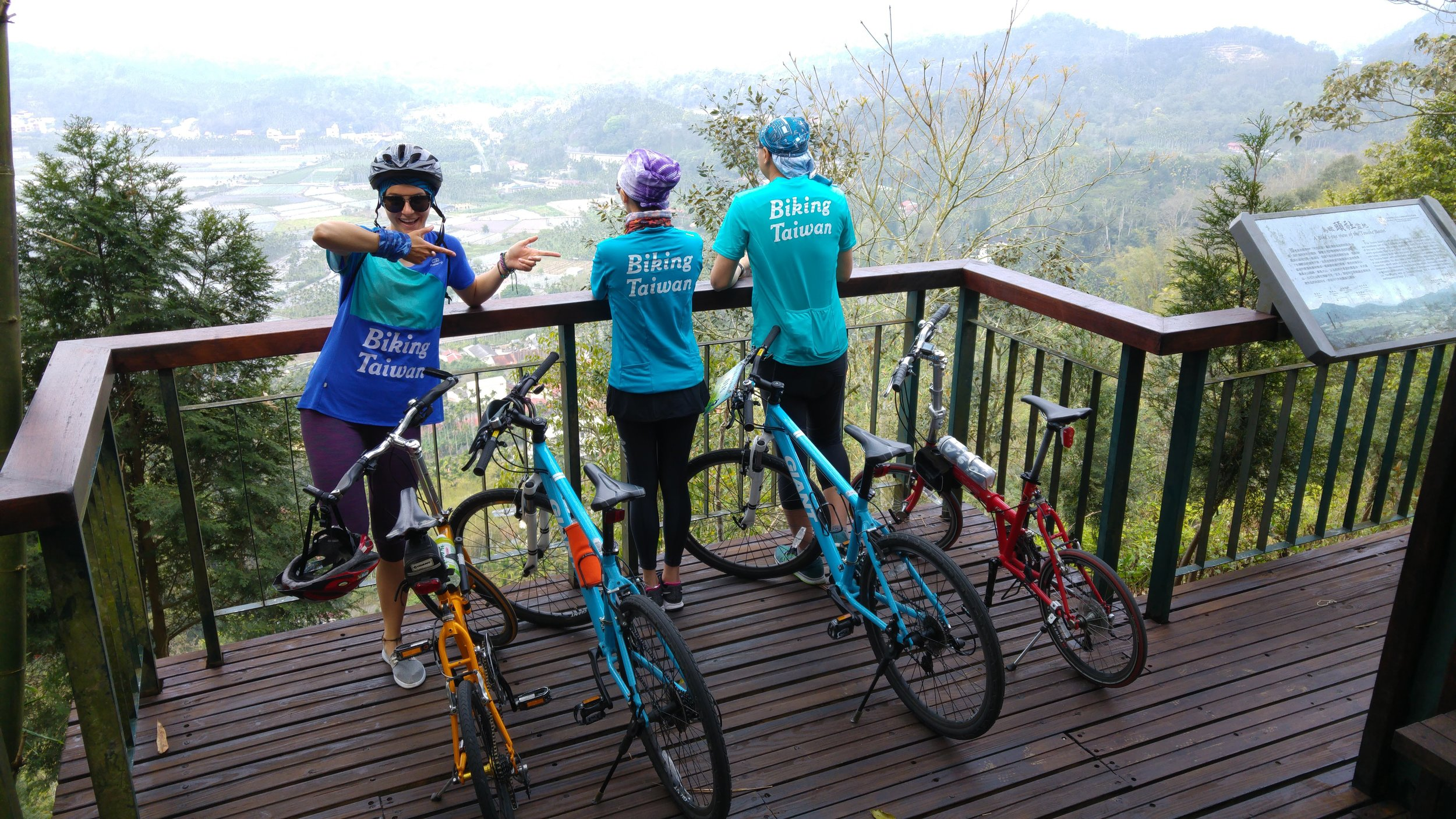 You can also have fun with Biking Taiwan TEAM!
