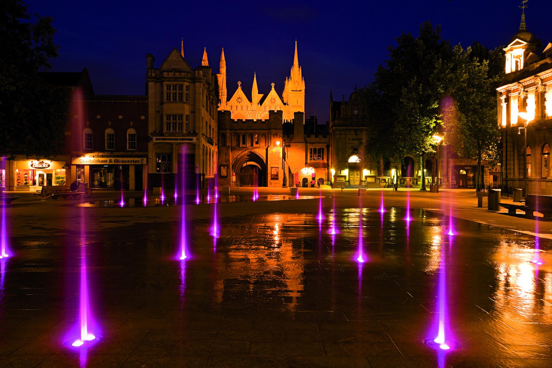 Cathedral Square, Petersborough
