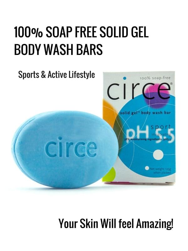 Circe Sports Soap free Bars