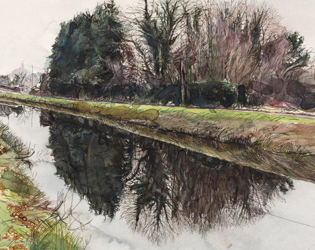 Royal Canal at Hyde Park