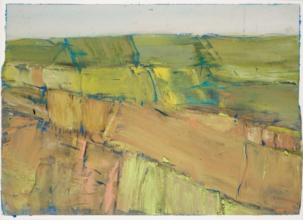 23 Beach l oil on paper 65 x 71cm by Mary Lohan.jpg