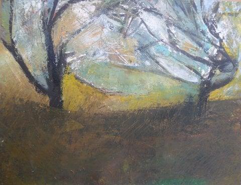 Orchard Duet (Summer storm)