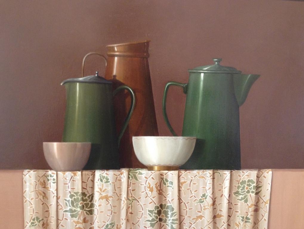Coffee Pots and Copper Jug