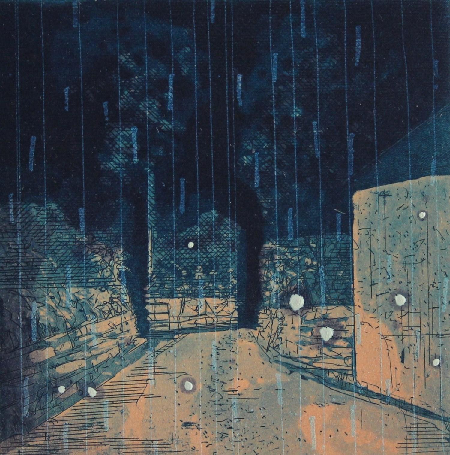 night driving rain