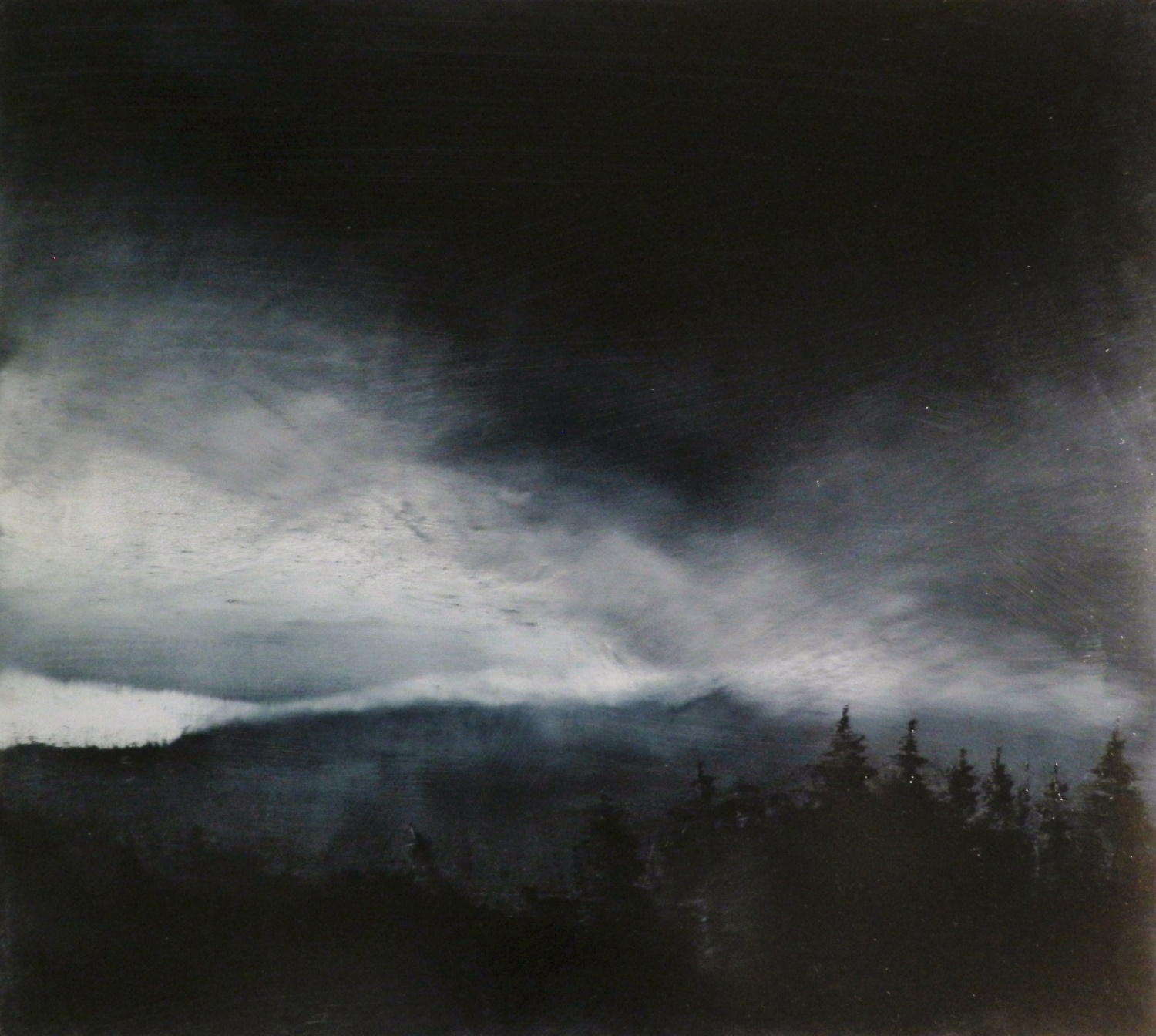 Night Time Storm - Daniel Chester