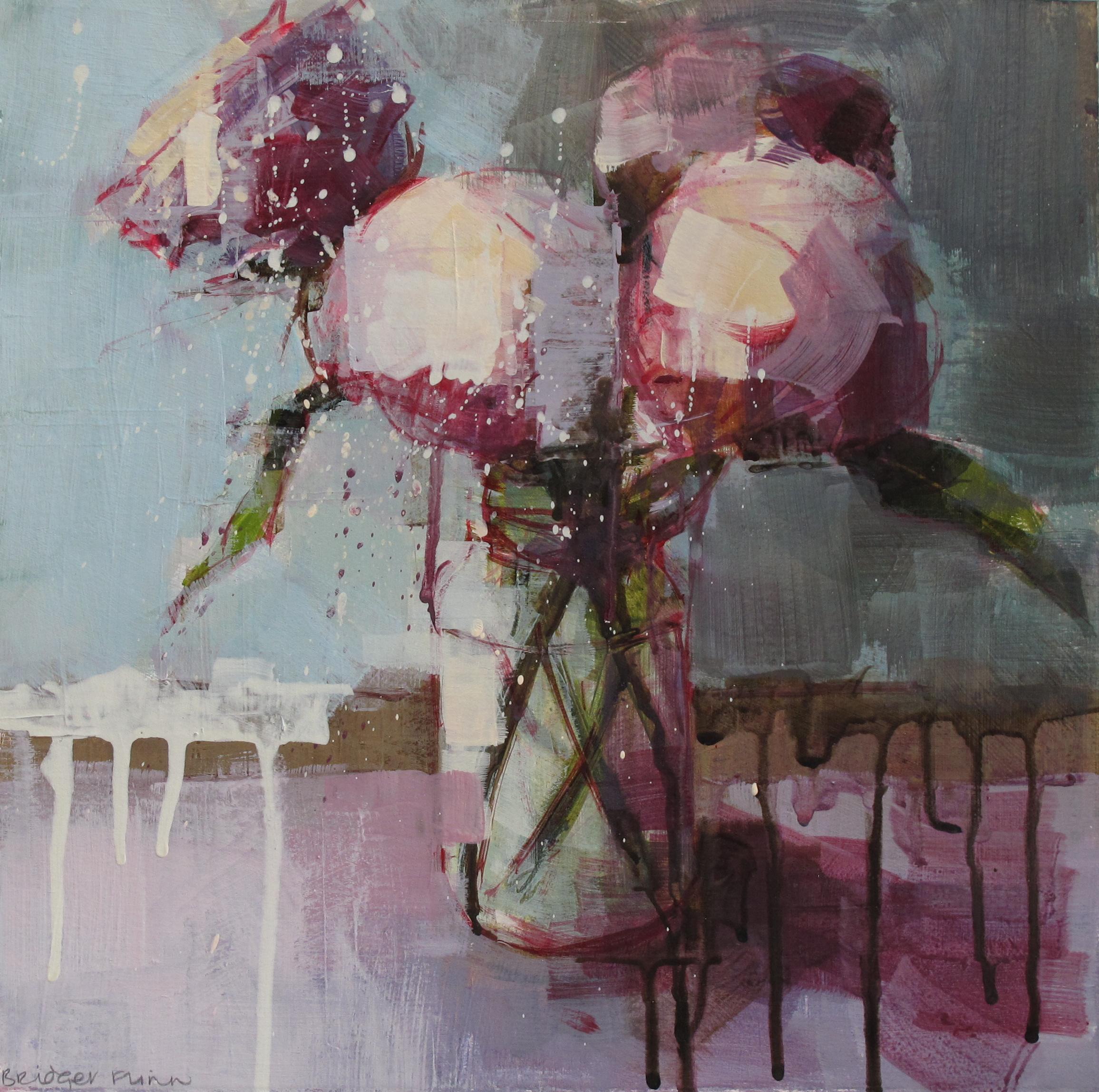 Flowers in Jam Jar - Bridget Flinn
