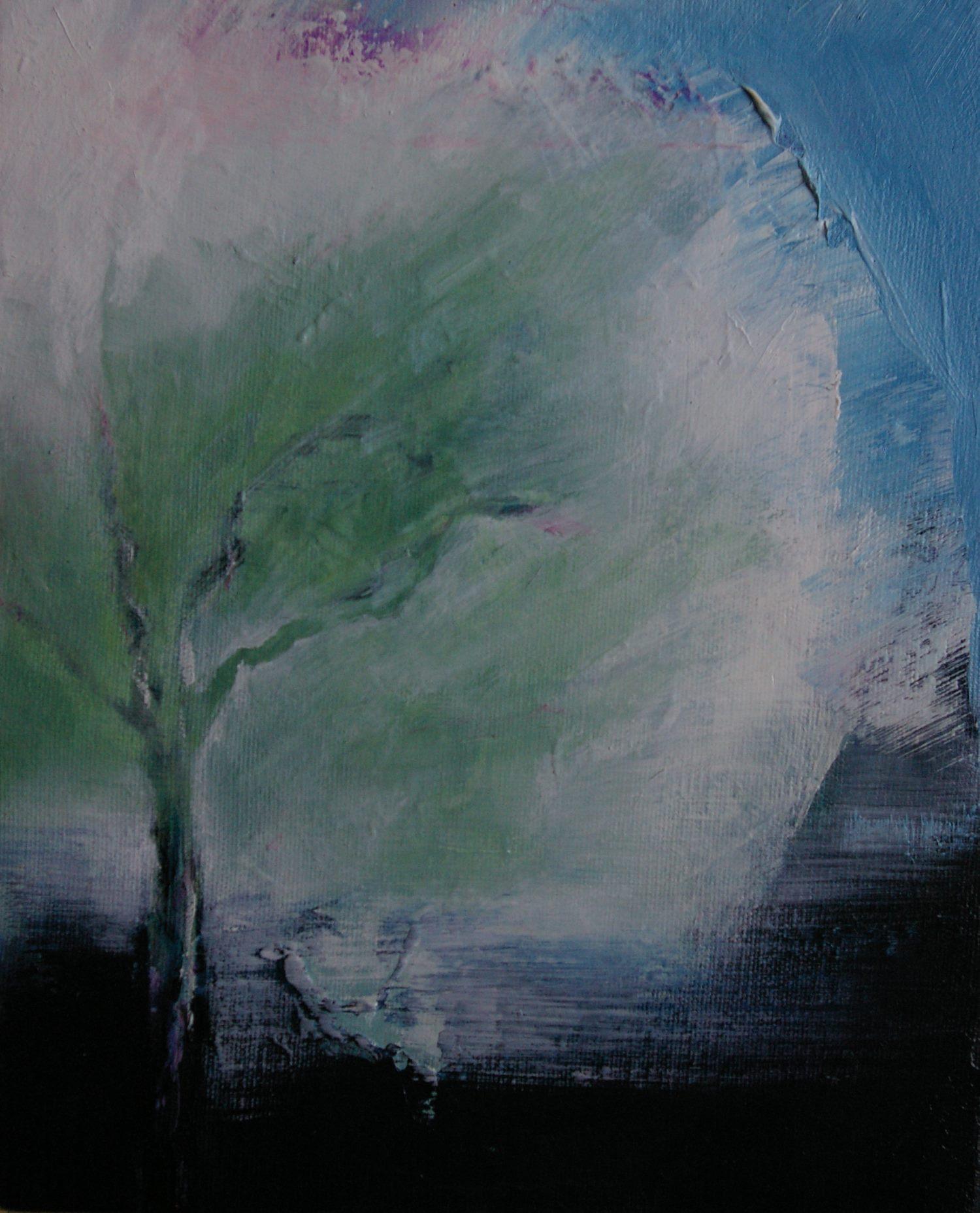 Memories of a walk 2: Plum Tree - Caitriona O'Leary