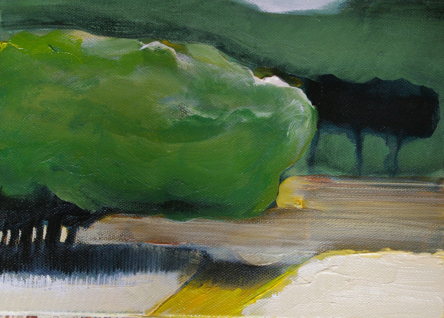 Memories of a walk 4: Picnic Tree  - Caitriona O'Leary