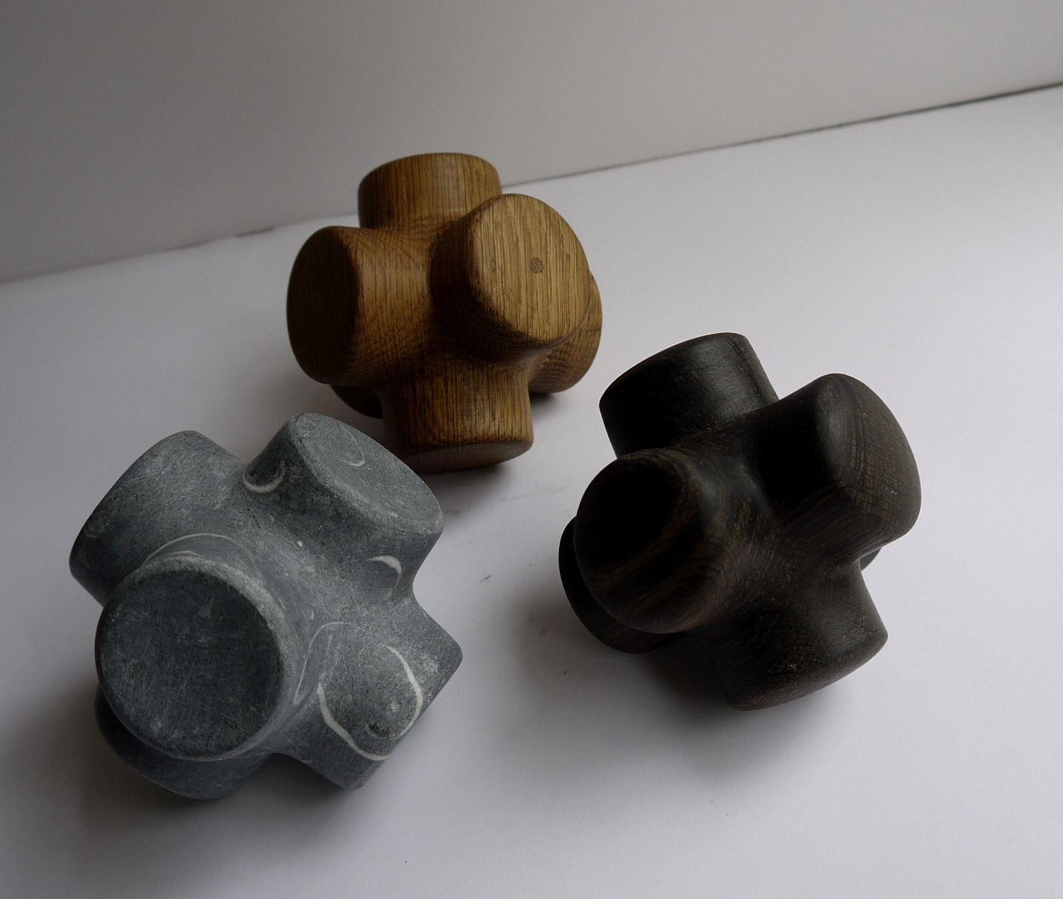 Untitled forms by Eileen Mac Donagh.