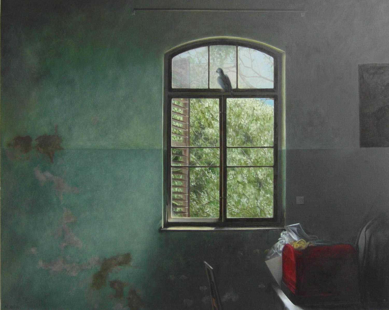 Neisha Allen - Parrot's room, Haifa.
