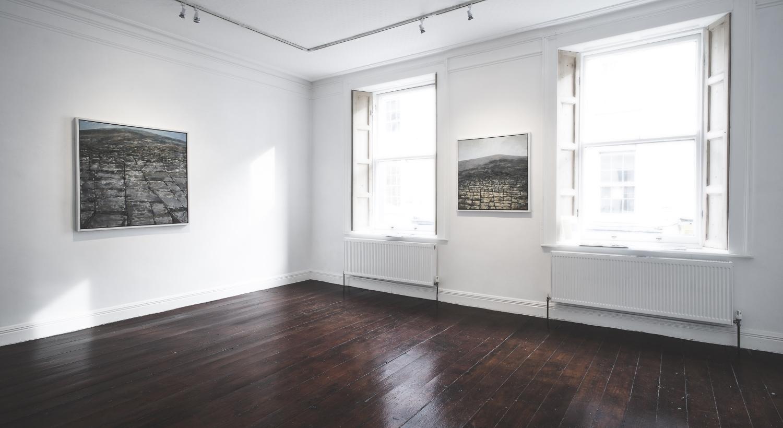 Hamilton Gallery Front Room + Charles Harper Exhibition