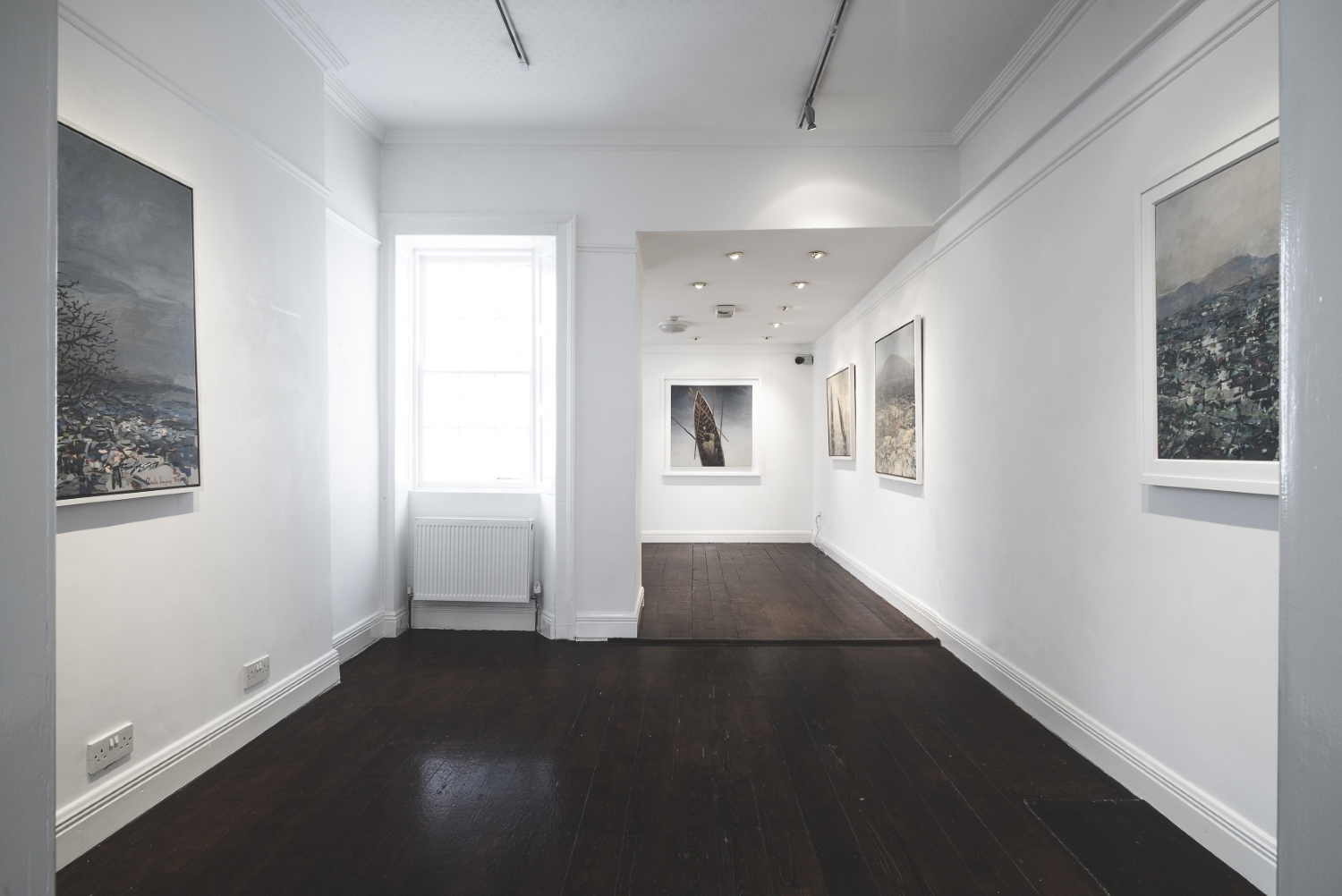 Hamilton Gallery Middle Room + Charles Harper