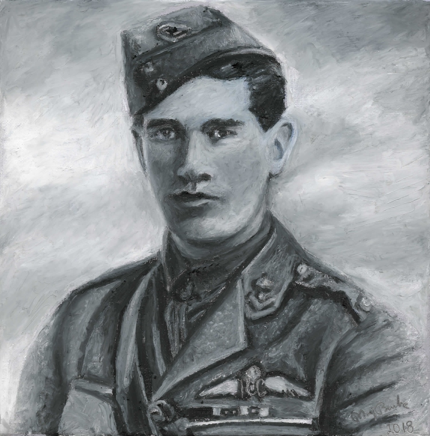 Major Edward 'Mick' Mannock 1887-1918 - Mary Burke