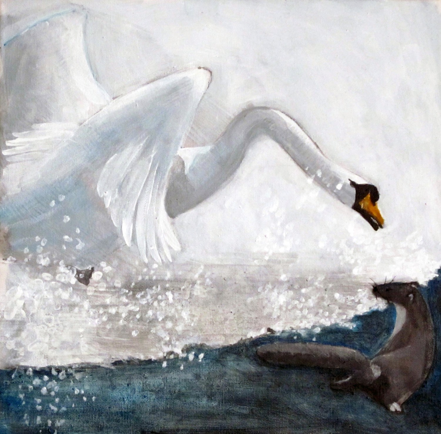 The Weasel and The Swan