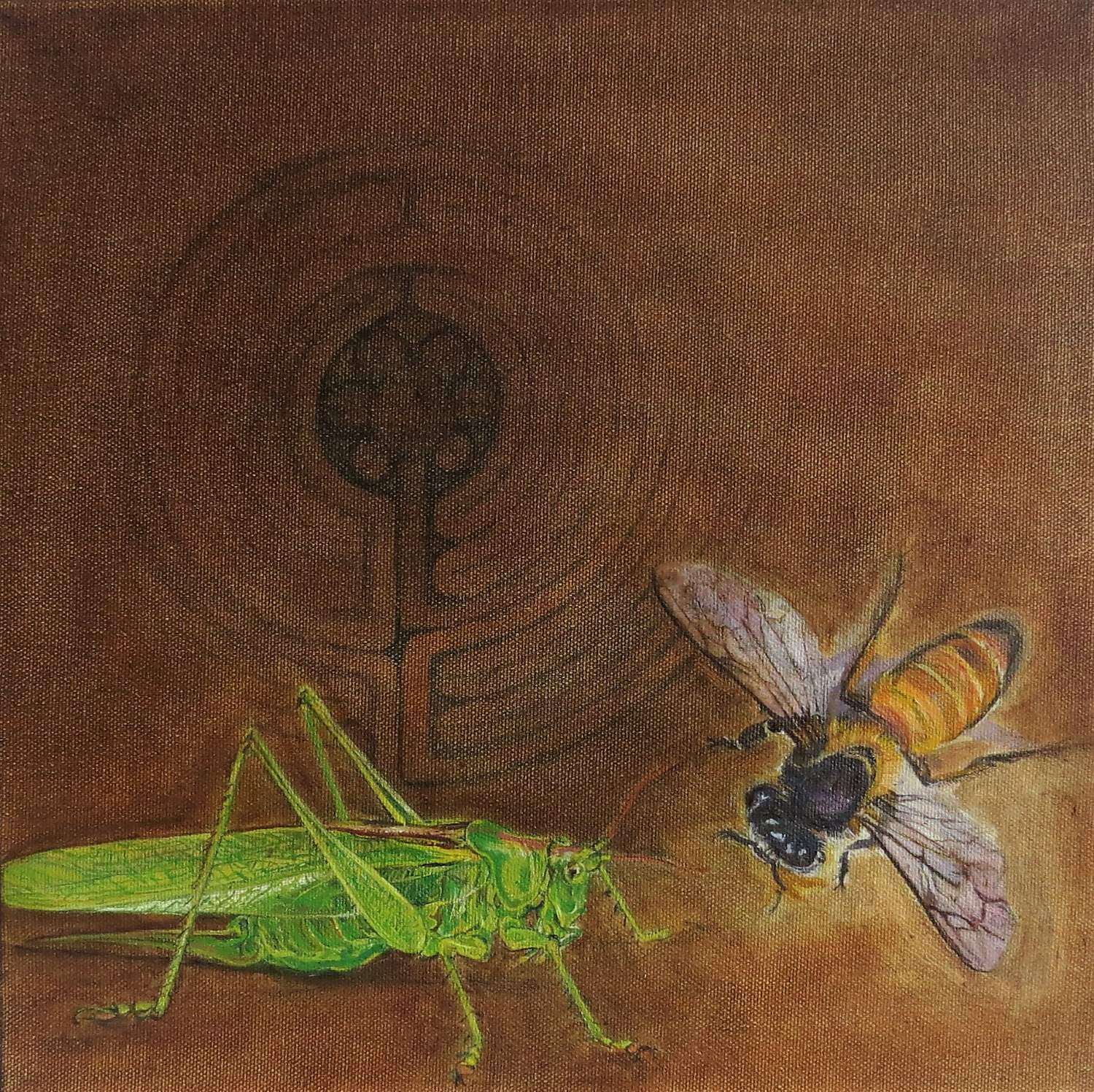 The Grasshopper and the Bee