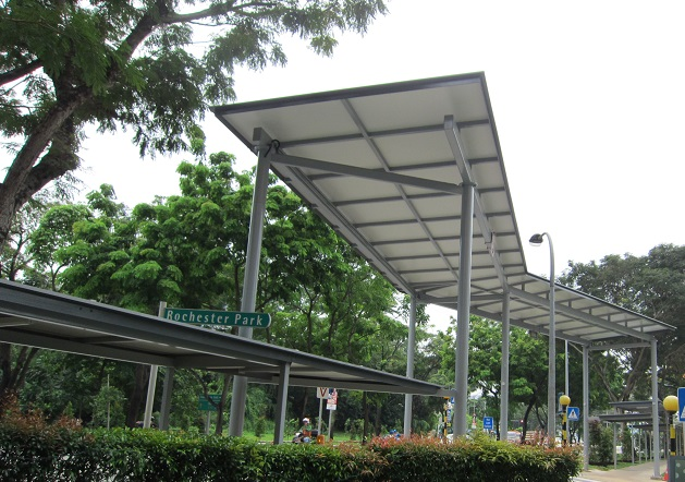 Covered High Linkways