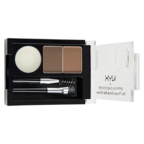 NYX Eyebrow Cake Powder.  Selle komplektiga saad samuti oma kulmumängu oluliselt parandada. See sisaldab vaha, mida saad kasutada enne kulmude värvimist, mistõttu on see mõneti nagu kulmu-primer. Kasuta seda toodet ja su kulmud on perfektsed terve päev!