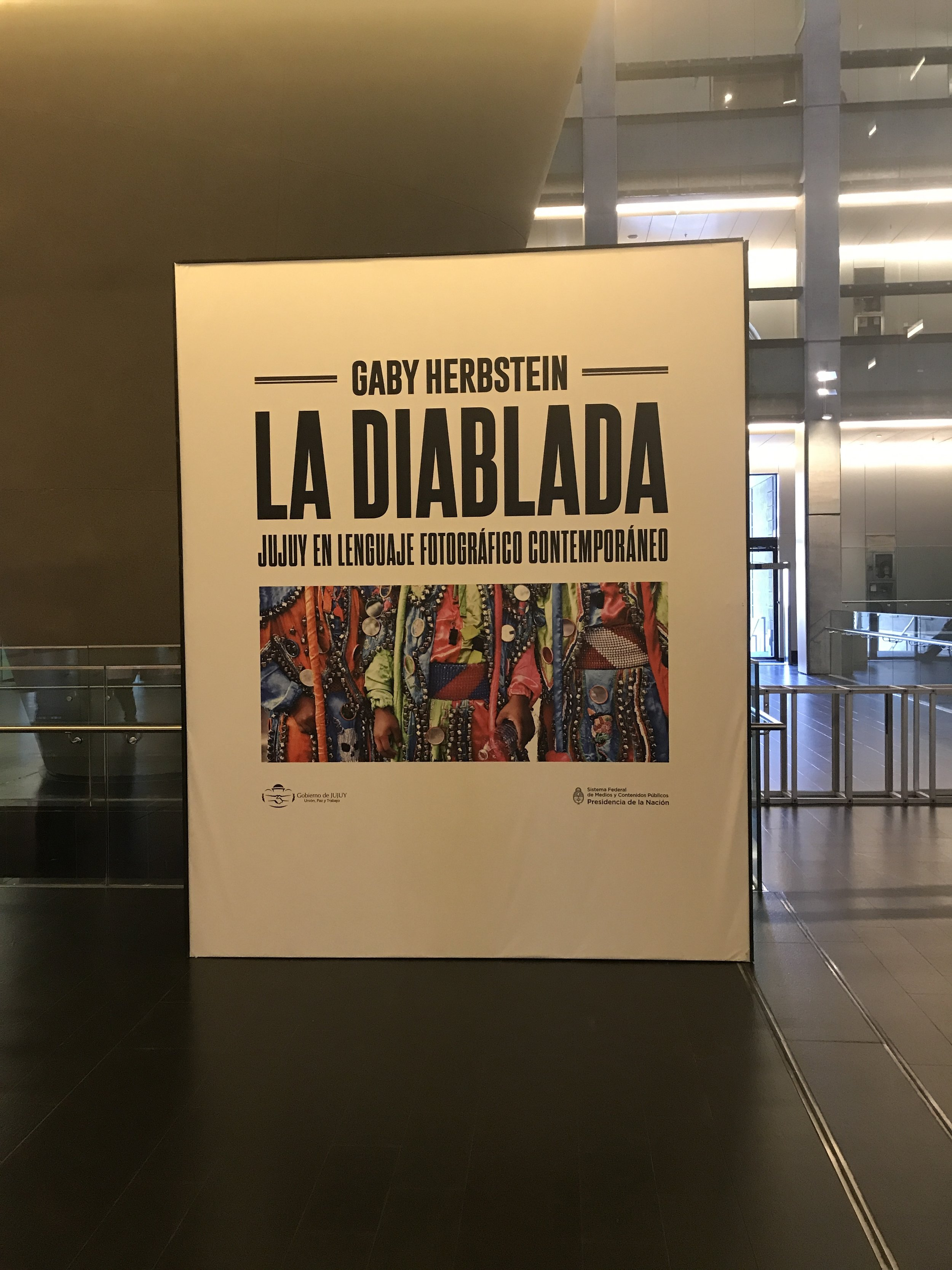 We saw this sick photography exhibit shot in the north part of Argentina where the JuJuy culture lives. There are a ton of stairs here if you really want to test your tired legs ! Or take the escalator, whatever!