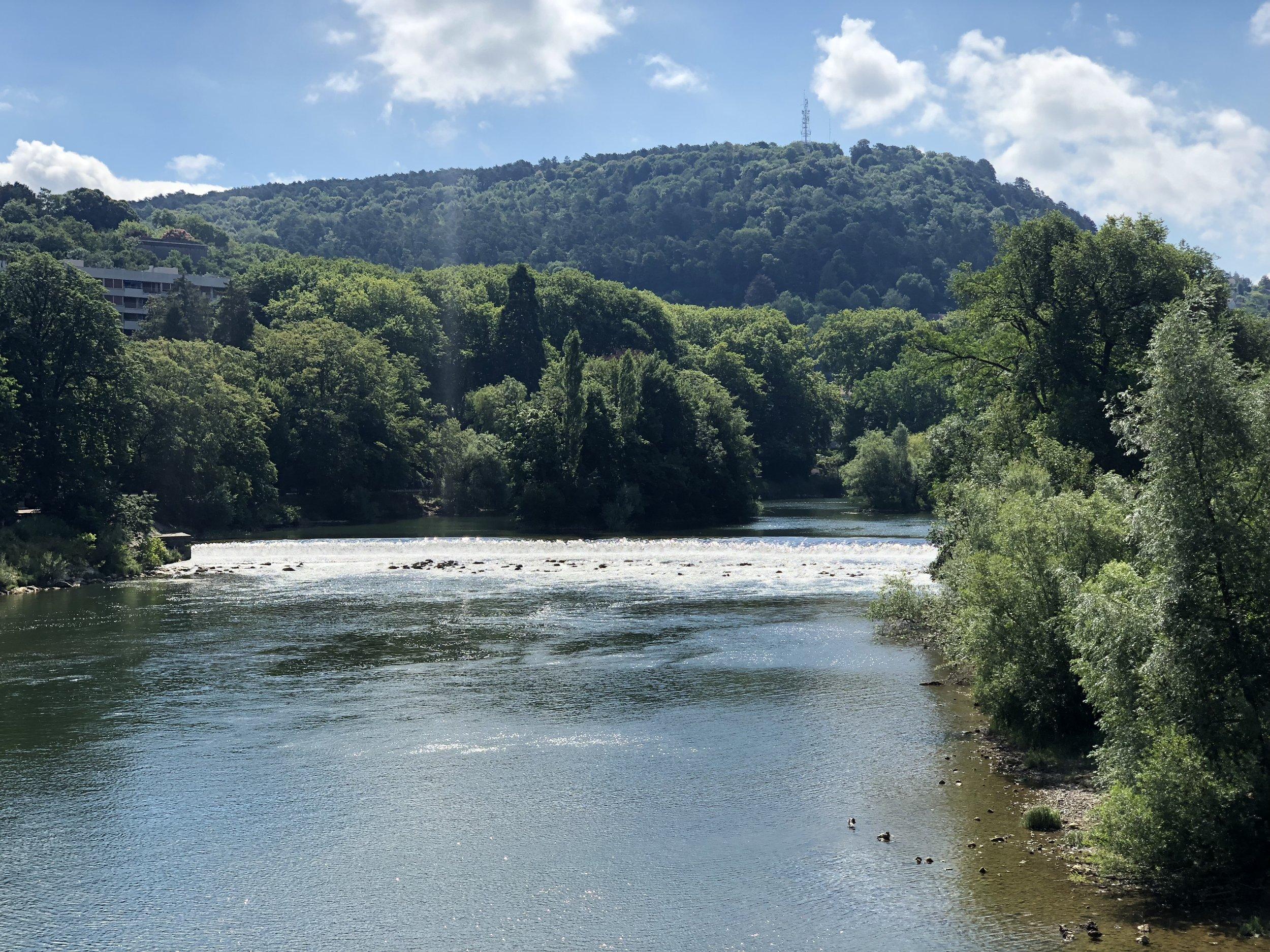 (Facing south towards Lausanne)