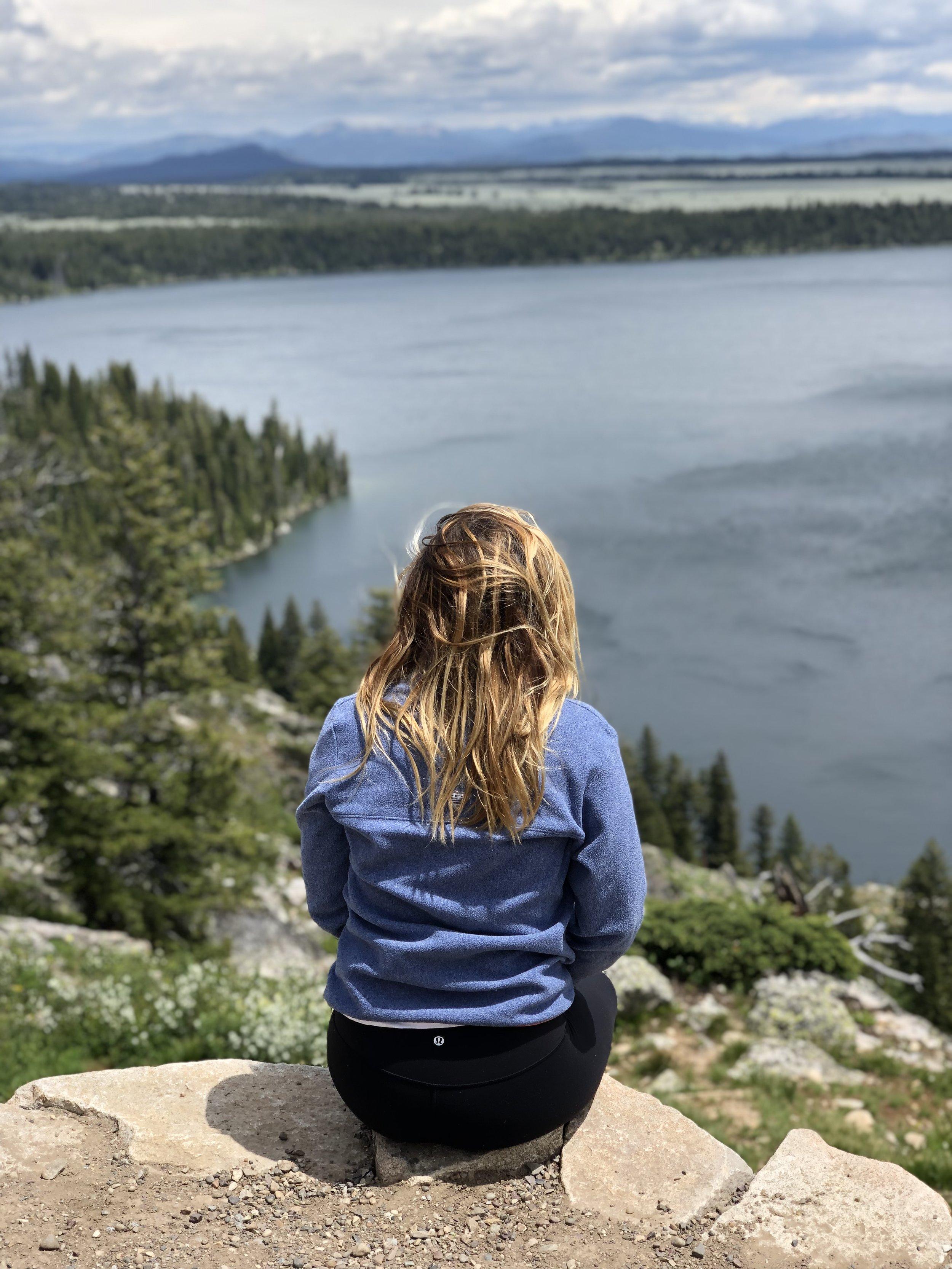 Inspiration Point, Jenny Lake