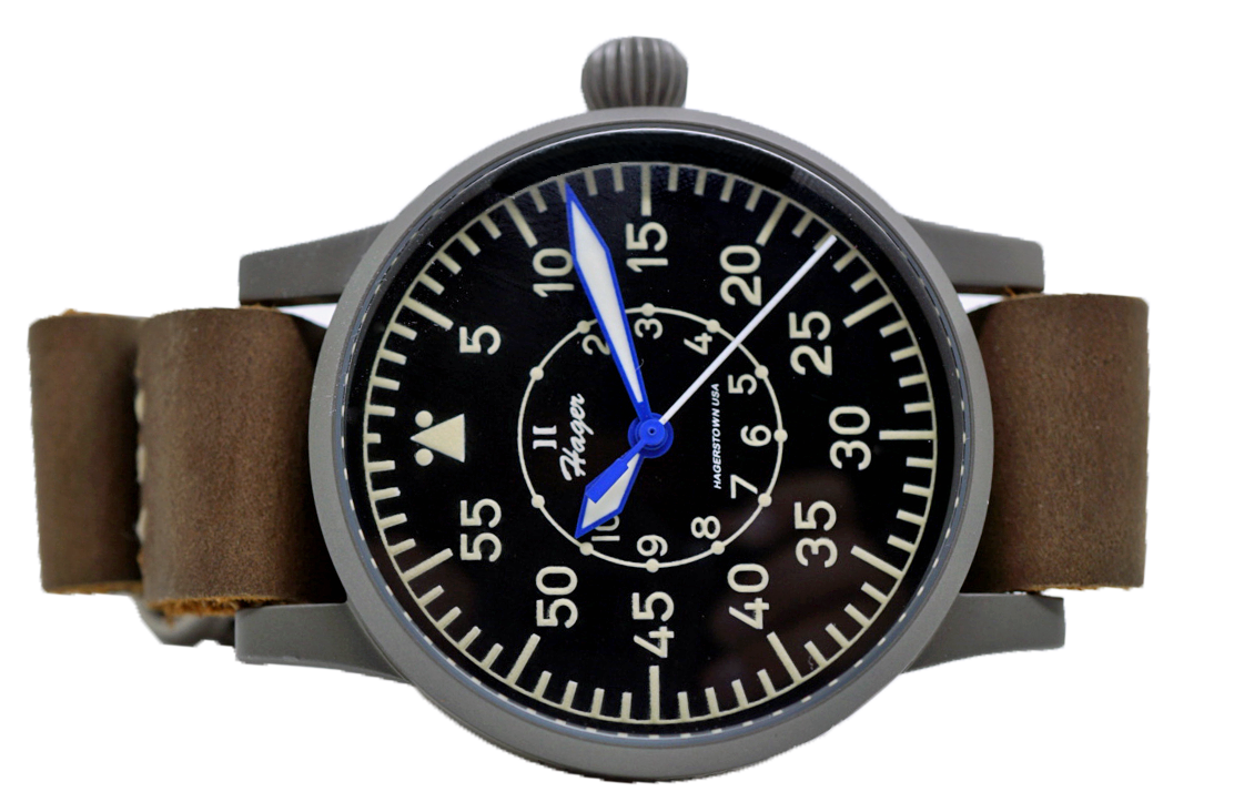 Hager Flieger (Bead Blasted Case)