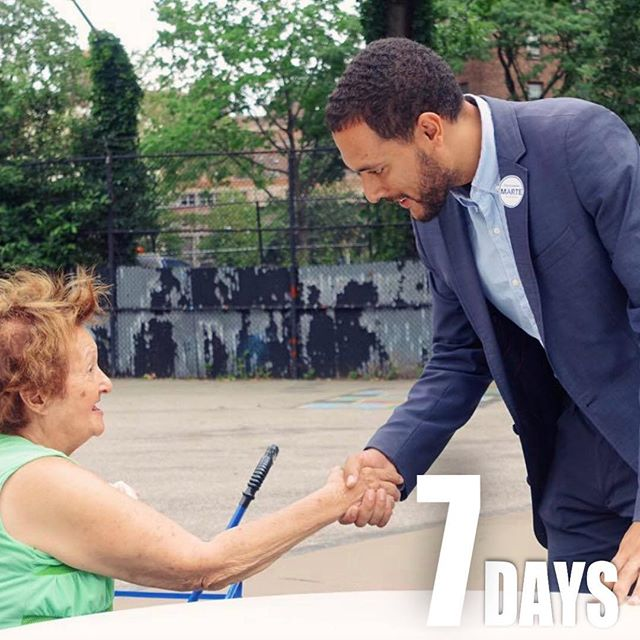 In 7 days, we elect who represents us in our Democratic Party. Make sure it's someone who knows you, walks your steps and says hi to you in our neighborhood. Link in the bio to join us! #votemarte #grassroots #democrat #AD65 #lowermanhattan #les #chinatown #fidi #bpc #soho #littleitalynyc